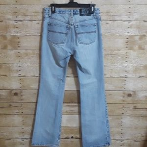 EXPRESS JEANS Low Rise Flare Size 5/6 L